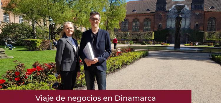 Viaje de negocios a Dinamarca